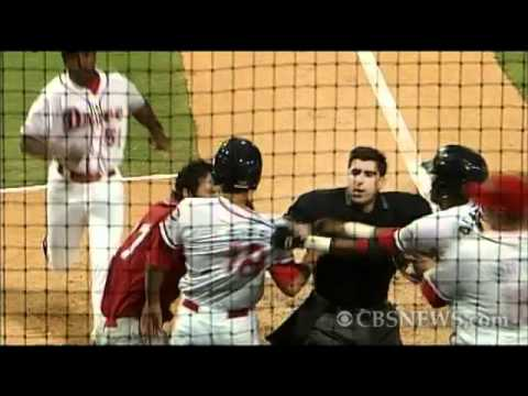 Caught on Tape: Minor League Baseball Brawl