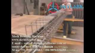 Rebar Mesh Bending Machine Skylark Construction Equipments