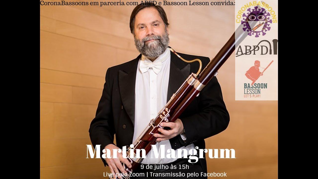 Live com Martin Mangrum