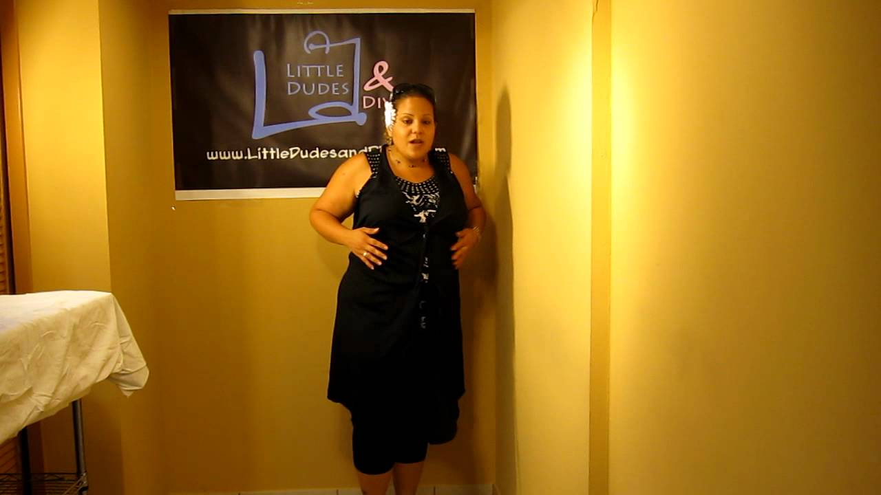 Pretty Pushers Delivery Gown Overview and Details - YouTube