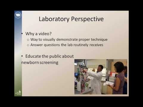 Putting Babies First: A Video Project to Discuss Blood-Spot Collection in Iowa