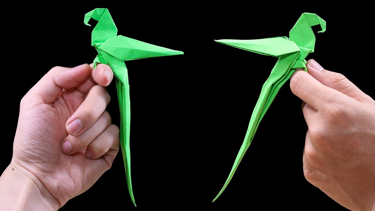 Origami Parrot Stock Illustration - Download Image Now - iStock   720x1280