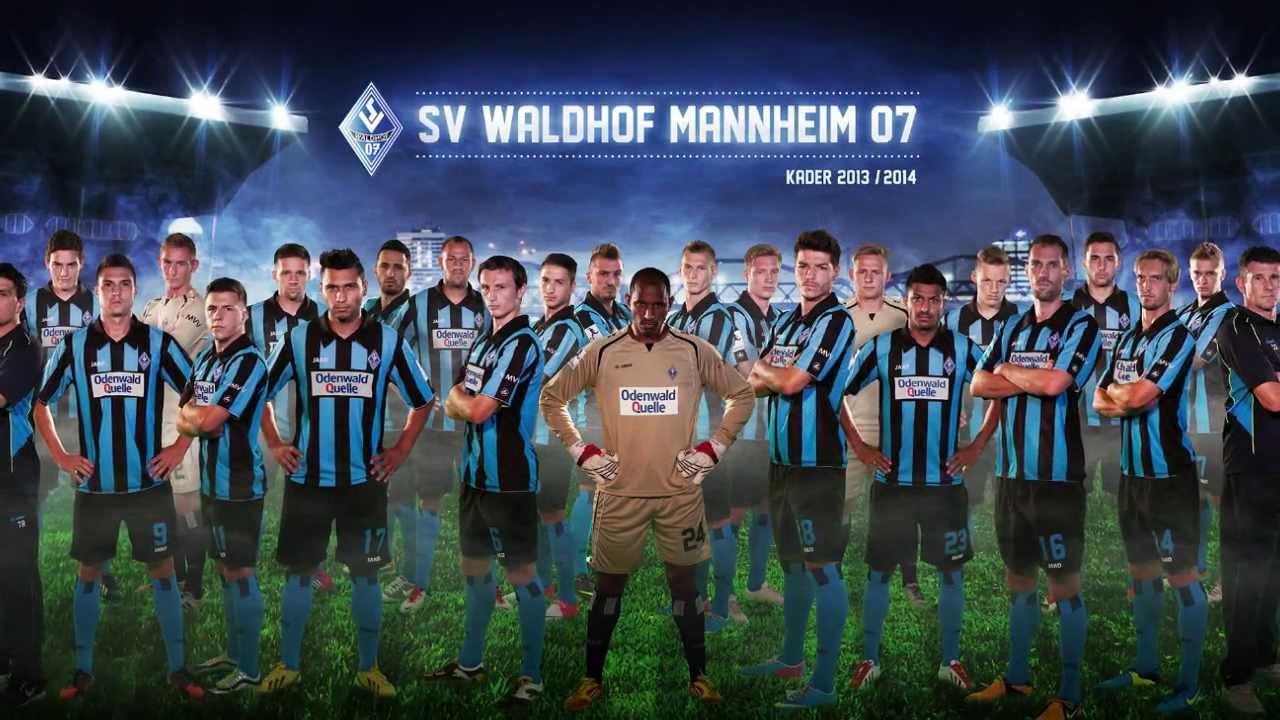 Mannschaftsfoto SV Waldhof Mannheim