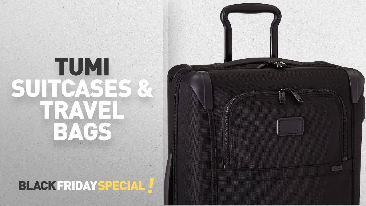 184ce2e0c Tumi Suitcases & Travel Bags Black Friday Deals: Tumi Alpha 2 ...