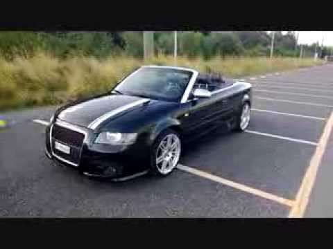 Audi A4 Cabrio Tuning Rdx Racedesign Bodykit Youtube