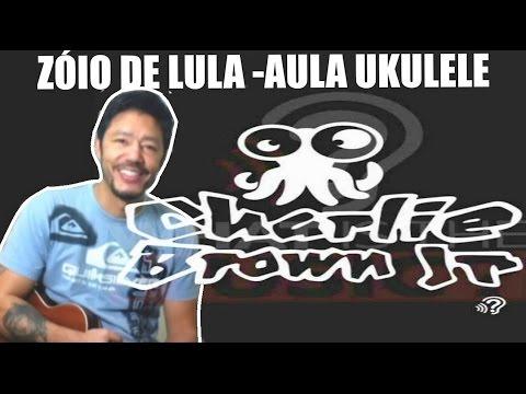 Aula de Ukulele - Musica com 2 acordes para iniciantes - Zóio de Lula - Charlie Brown Jr