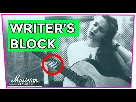 4 Quick Songwriting Tips for Beating Writer's Block | musicianonamission.com
