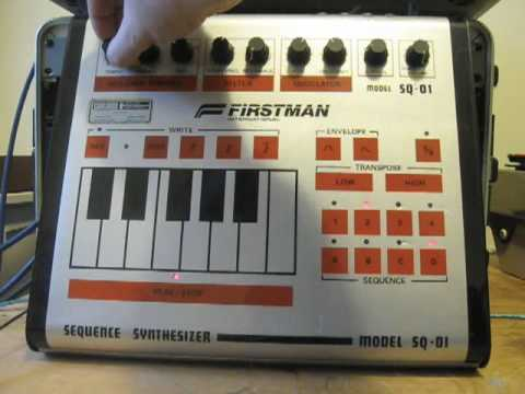 Firstman Multivox SQ-01 analog sequencer synthesizer 1980