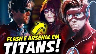 Titans serie personagens
