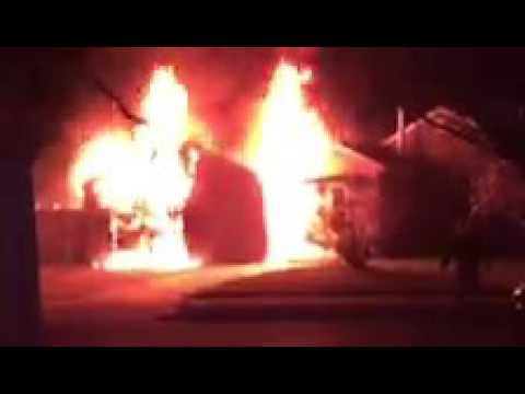 Fire Heavily Damages Rio Grande Garage