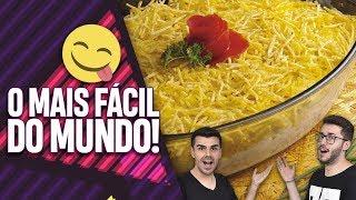 FRICASSÊ DE FRANGO SUPER FÁCIL E RÁPIDO! EP. 041