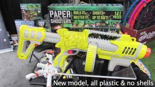 New York Toy Fair 2017 - Spitball Blasterz (Paper Shooters) TFNY