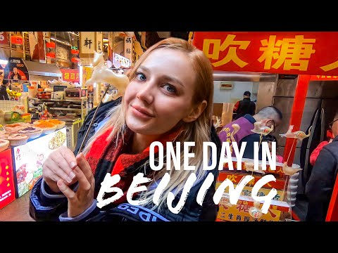 I WENT TO CHINA FOR THE FIRST TIME   One day in BEIJING