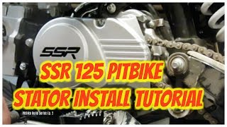 SSR 125 Stator Install | Pitbike Build Series Ep. 2