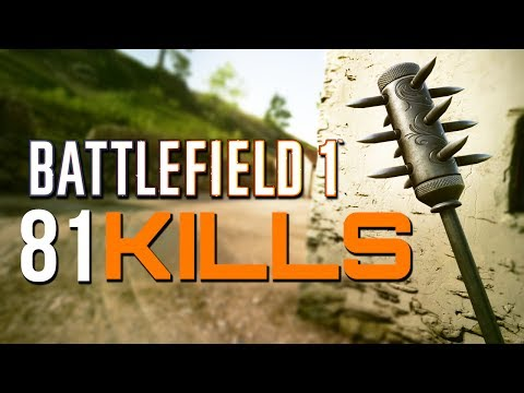 Battlefield 1: 81 Kills - They Shall Not Pass DLC (PS4 Pro Gameplay)