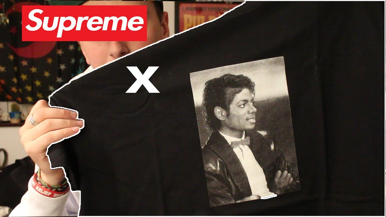 76039d6cc992 Supreme X Michael Jackson (PICK UP) - YouTube