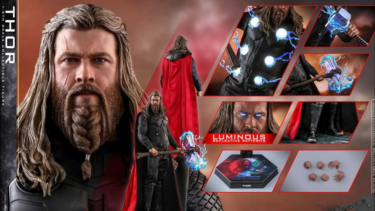 """1//6 Hammer Toy Model For Avengers End game Thor For 12/"""" Hot Toys Male Figure USA"""