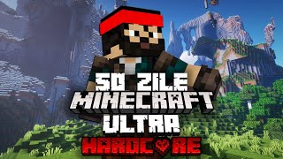 Am Supravietuit 50 Zile pe Minecraft Ultra Hardcore! [Amplified World]