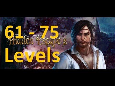 Hidden Escape 2 - 100 Дверей Приключения - 61 - 75 уровень (61 - 75 levels) прохождение