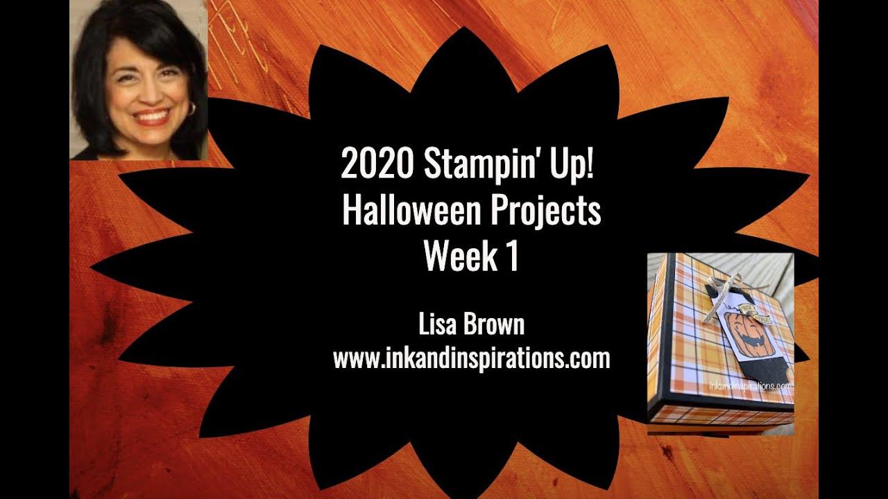 Stampin Up Halloween 2020 2020 Stampin' Up! Halloween Projects Week 1   YouTube