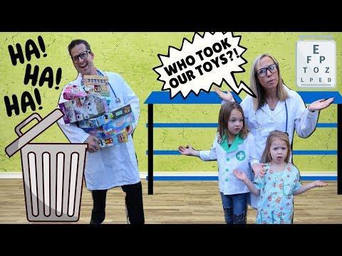 Toy Doctor Lucy vs Real Doctor Jason