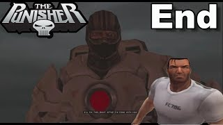 The Punisher PS2 Gameplay #16 Ryker's Island: Punisher vs Jigsaw [ENDING!!!]