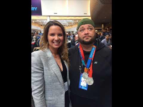 Olympian Kara Lynn Joyce Joined Levack & Goz On Radio Row
