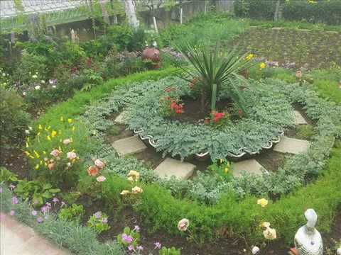 Ideje za vrt-- Ideas for the garden 2 - YouTube