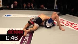 BCMMA# Sam Green Vs Sam Diplock - Amateur 125lbs Flyweight MMA Contest