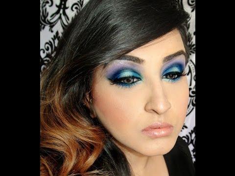Smokey Blue with Makeup Geek Eyeshadows thumbnail
