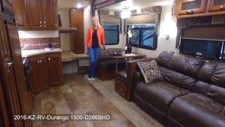 2016 KZ RV Durango 1500 D286BHD