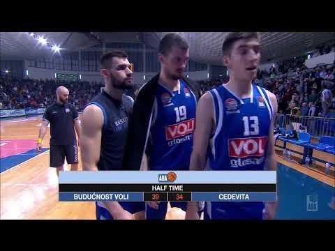 2018 ABA Playoffs Semifinals highlights, Game 1: Budućnost VOLI - Cedevita (18.3.2018)
