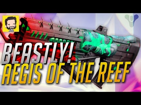 BEAST ROLL of a Pulse Rifle!  Aegis Of The Reef | Destiny (The Taken King)