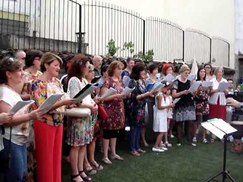 Cantar Maggio coro popolare 2014