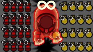 Surviv.io - Infinite Grenades to the Face - Demo Class (Surviv.io Trolling with Grenades)
