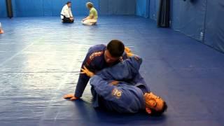 shoulder roll side control escape