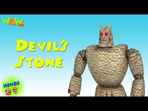 Devil's Stone - Motu Patlu in Hindi - ENGLISH, FRENCH & SPANISH SUBTITLES! - 3D Animation Cartoon thumbnail