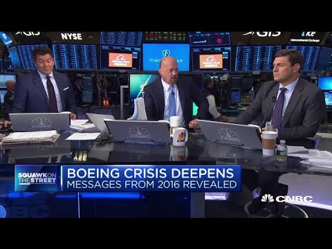Jim Cramer: Wall Street got had by Boeing