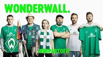 #BePartOfIt | Das neue Werder-Trikot 2019/2020 für die Green White Wonderwall | SV Werder Bremen