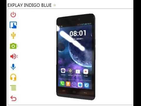 EXPLAY INDIGO BLUE