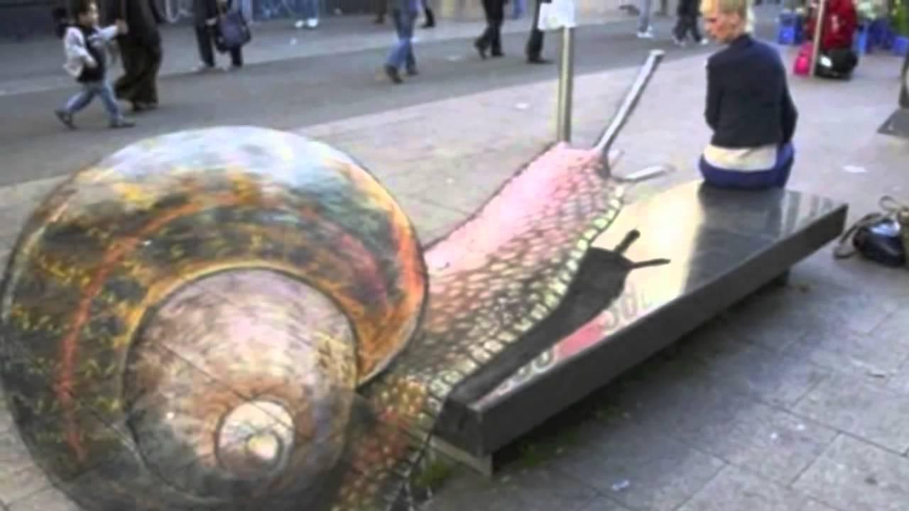 De beste en indrukwekkendste 3d street art illusions ter for Beste 3d keukenplanner