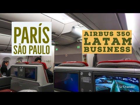 Airbus 350 París São Paulo - business class