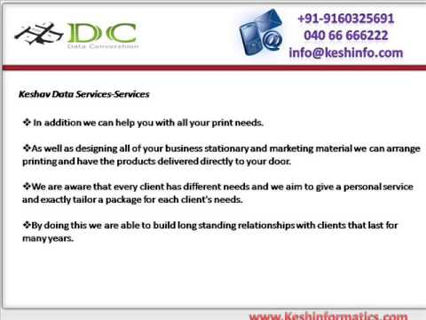 Data Conversion services in Hyderabad | Kesh Data Conversion services