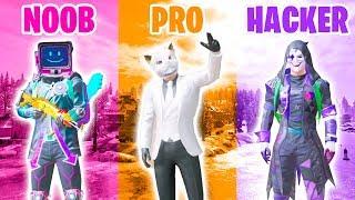 Download NOOB vs PRO vs HACKER in PUBG MOBILE Mp3 and Videos