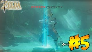 "LEGEND OF ZELDA ""BREATH OF THE WILD"" GETTING THE MASTER SWORD! - (PART 5)"