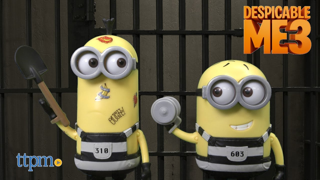 Funko Despicable Me 3 Dorbz Jail Time Phil Vinyl Figure NEW Toys Collectibles