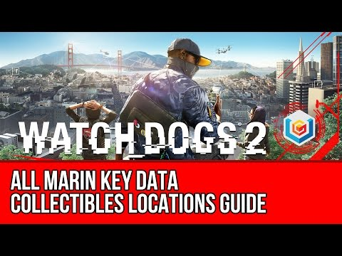 Watch Dogs 2 All Marin Key Data Collectibles Locations Guide