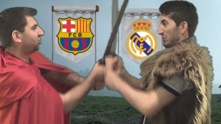 Cristiano Ronaldo vs Messi - Game of Thrones Battle  In Real Life