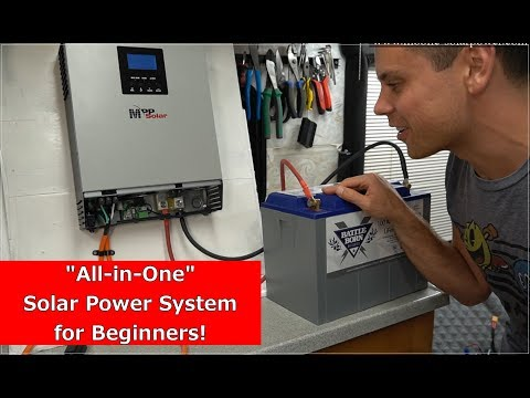 Beginner Friendly All-in-One Solar Power System! Build a Sys