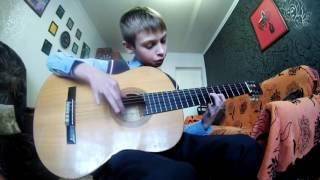 """Уроки гитары белгород. (Видео с учениками). """"Розовая пантера"""" (Даня)"""